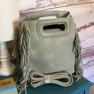 Honora Fringe Leather Purse